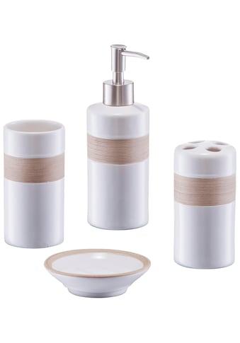 Zeller Present Badaccessoires - Sets, aus hochwertiger Keramik kaufen