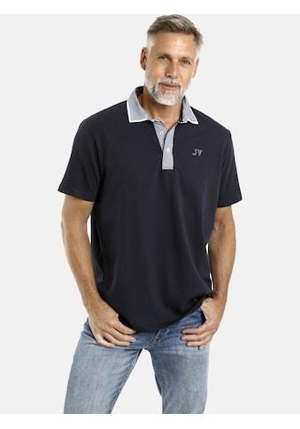 Jan Vanderstorm Poloshirt »DANHY«, Kragen mit Streifendesign kaufen
