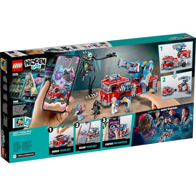 "LEGO® Konstruktionsspielsteine ""Phantom Feuerwehrauto 3000 (70436), LEGO® Hidden Side™"", Kunststoff, (760-tlg.)"