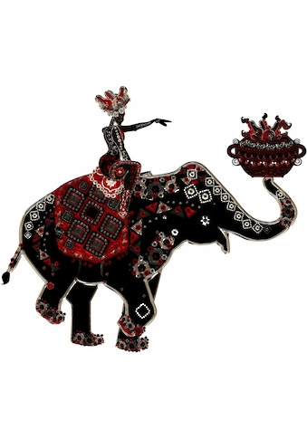 Wall-Art Wandtattoo »Metallic Elephant Ride« kaufen