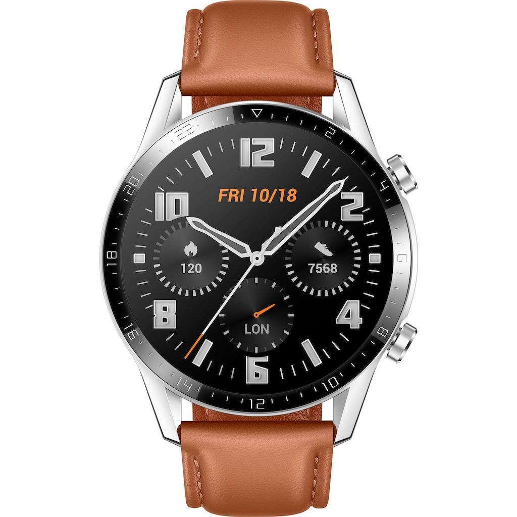 Huawei Smartwatch »GT 2 Classic«, (RTOS 900-30104)