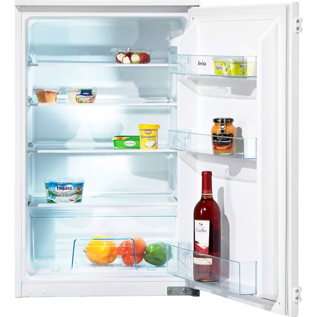 Amica Einbaukühlschrank, integrierbar