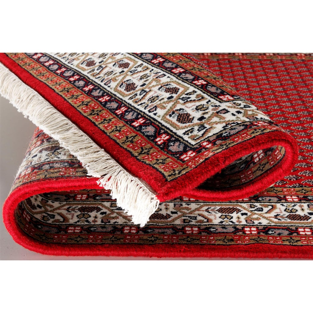OCI DIE TEPPICHMARKE Läufer »Sakki Mir«, rechteckig, 7 mm Höhe, handgeknüpft, 100 % Wolle, mit Fransen