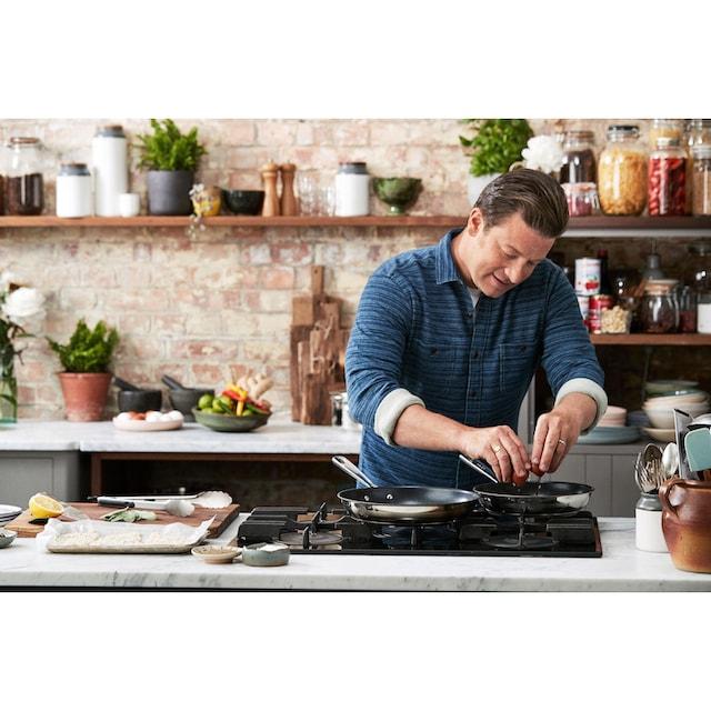 Tefal Pfannen-Set »Jamie Oliver Brushed (E011S3)« (Set, 3-tlg.)