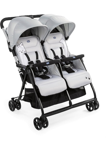 Chicco Zwillingsbuggy »OHlalà Twin, Silver Cat«, 15 kg kaufen