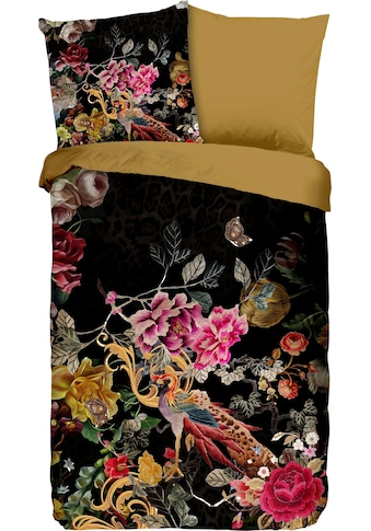 PURE luxury collection Wendebettwäsche »Vivaldi«, mit Blumen und Pfau kaufen