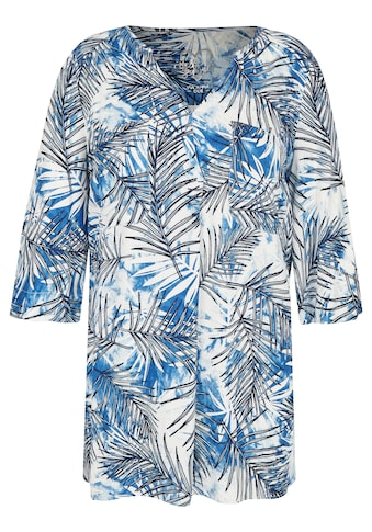 VIA APPIA DUE Extravagante Bluse mit Allover-Print kaufen