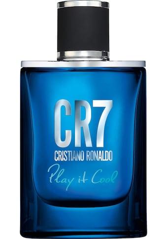 CRISTIANO RONALDO Eau de Toilette »Play it cool!« kaufen
