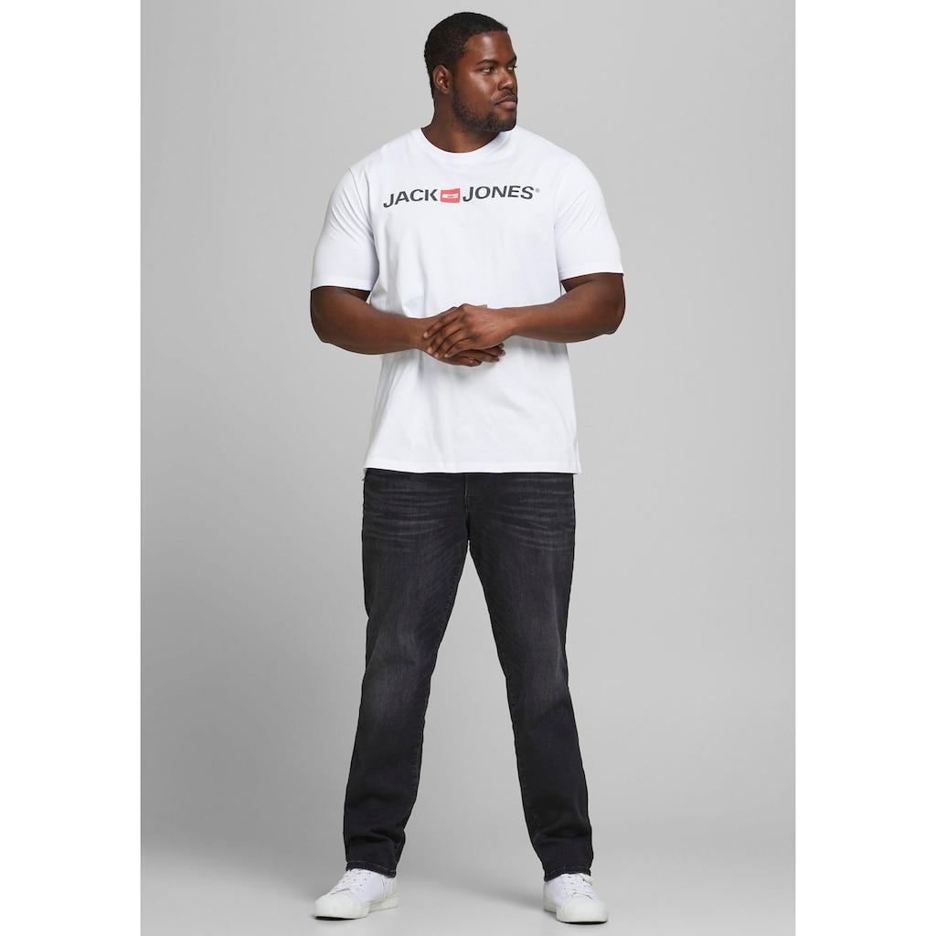 Jack & Jones T-Shirt »CORP LOGO TEE«, bis Größe 6XL