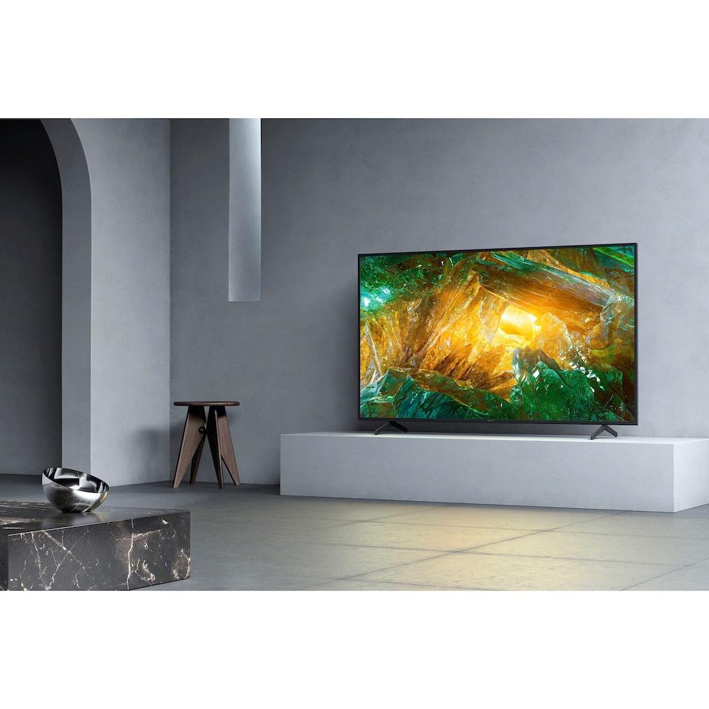 "Sony LED-Fernseher »KE-65XH8096«, 164 cm/65 "", 4K Ultra HD, Android TV-Smart-TV"