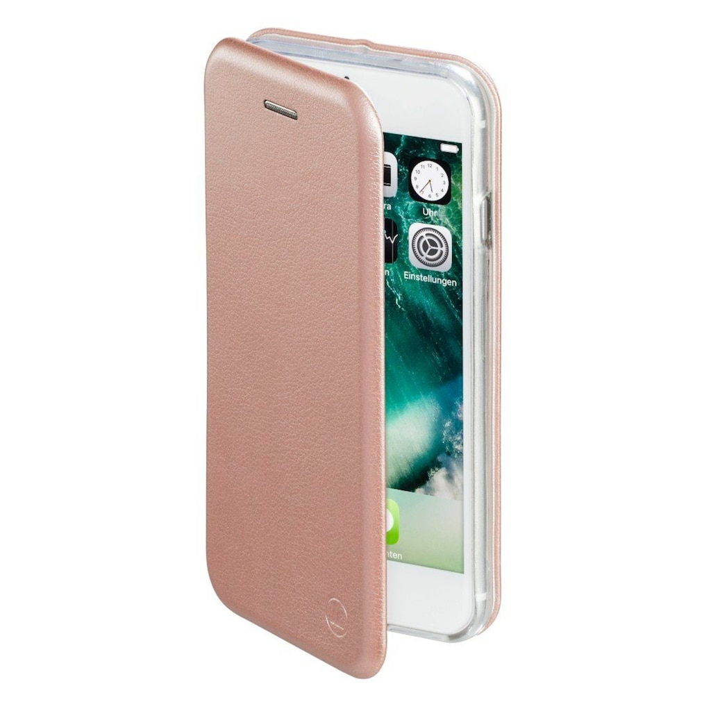"Hama Booklet, Tasche ""Curve"" für Apple iPhone 7/8, Rosegol"