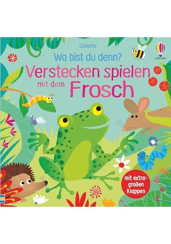 Buch »Wo bist du denn? Verstecken spielen mit dem Frosch / Sam Taplin, Gareth Lucas« kaufen