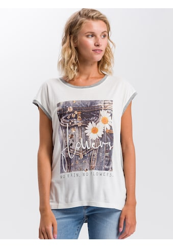 Cross Jeans® T-Shirt »55729«, Legeres T-Shirt kaufen