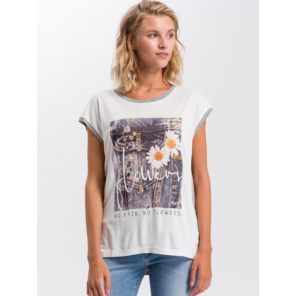 Cross Jeans® T-Shirt »55729«, Legeres T-Shirt