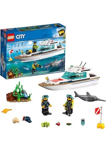 """LEGO® Konstruktionsspielsteine """"Tauchyacht (60221), LEGO® City"""", (148 - tlg.) kaufen"""