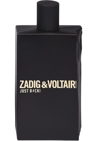 """ZADIG & VOLTAIRE Eau de Toilette """"Just Rock! Pour Lui"""" kaufen"""