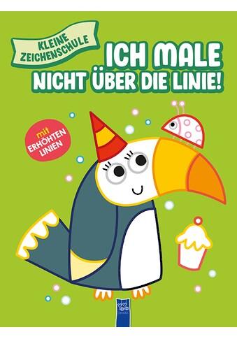 Buch »Kleine Zeichenschule - Ich male nicht über die Linie (grün) / DIVERSE« kaufen