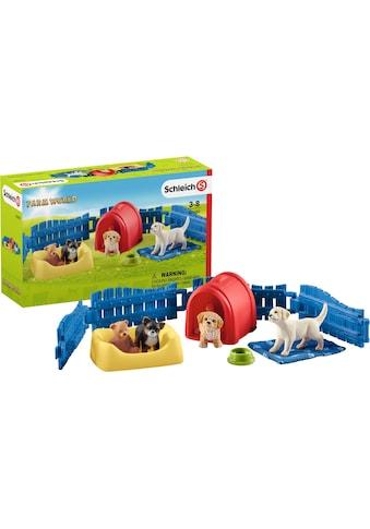 Schleich® Spielwelt »Farm World, Welpenstube (42480)« kaufen