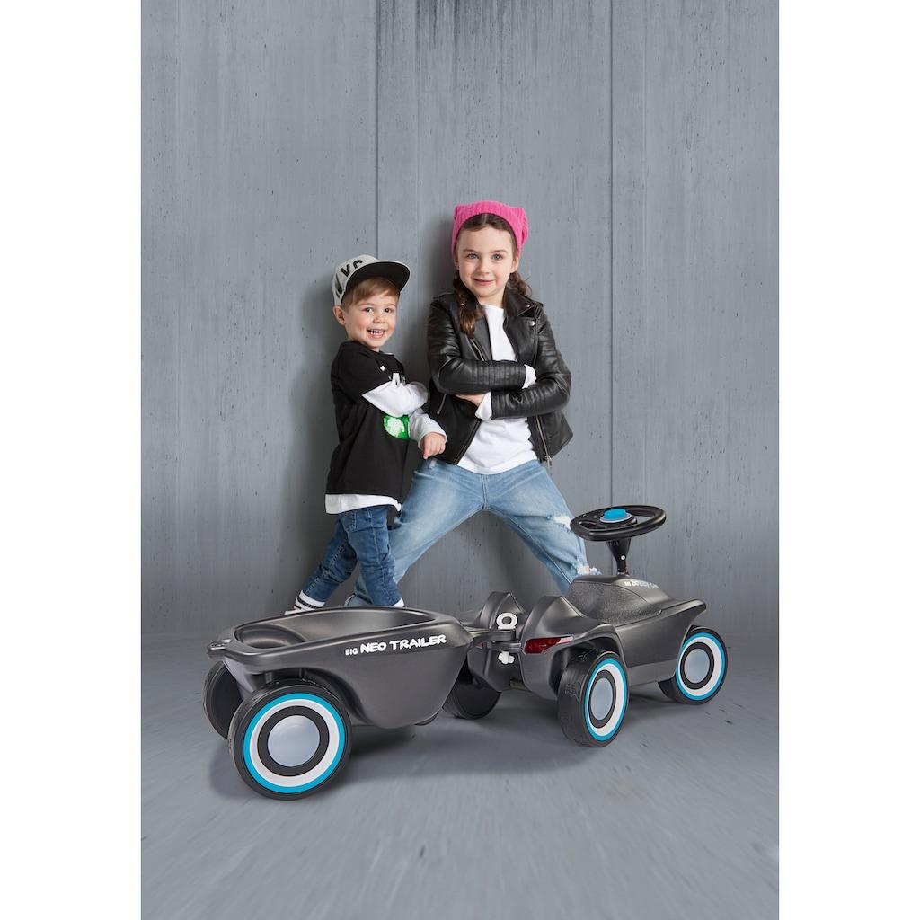 BIG Kinderfahrzeug-Anhänger »BIG-Bobby-Car-Neo Trailer Anthrazit«, Made in Germany