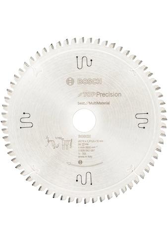 BOSCH Kreissägeblatt »Top Precision Best for Multi Material«, 216 x 2,3 mm, 64 Zähne kaufen