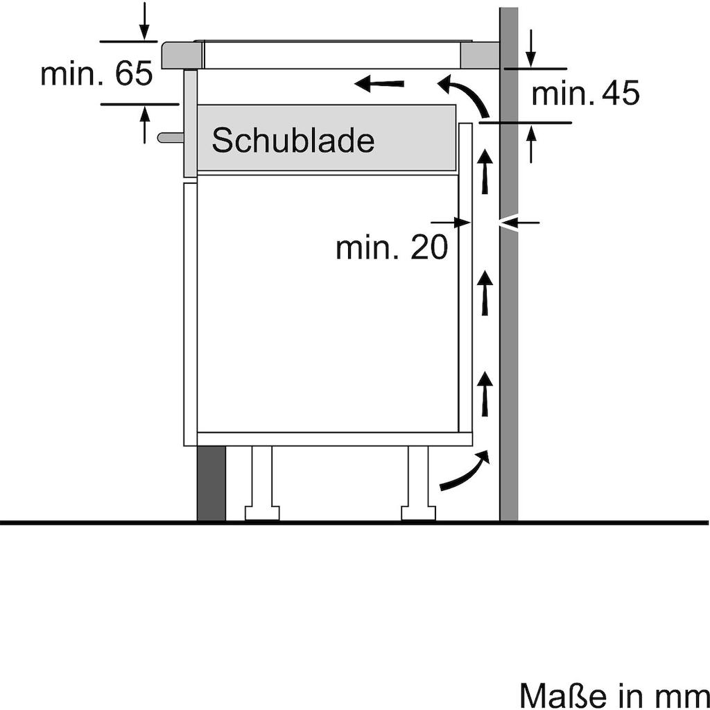 SIEMENS Flex-Induktions-Kochfeld von SCHOTT CERAN®, EX645FXC1E, mit Bratsensor Plus
