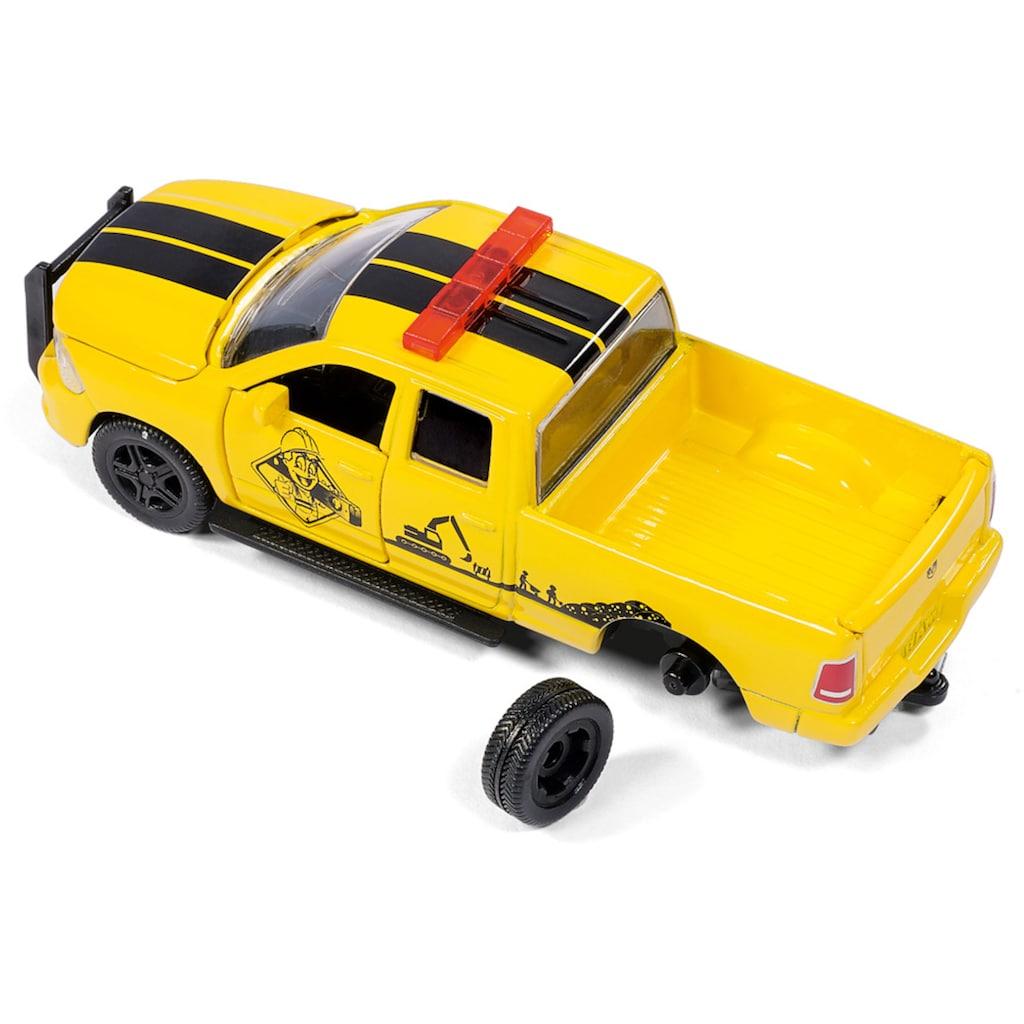 Siku Spielzeug-Auto »SIKU Super, RAM 1500 mit Kompressoranhänger«