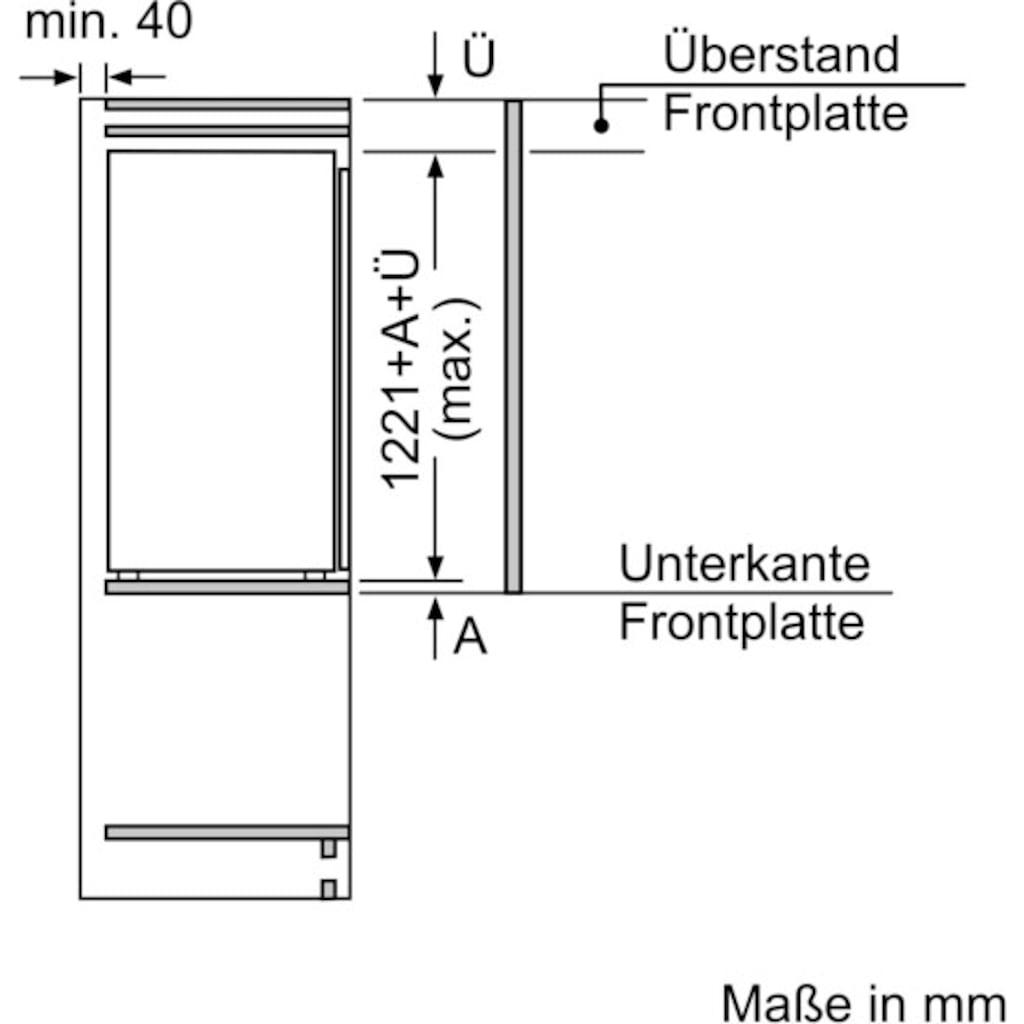 BOSCH Einbaukühlschrank »KIR41AFF0«, 6