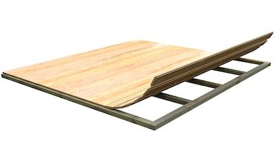 WEKA Fußboden für Gartenhäuser , BxT: 300 x 300 cm kaufen
