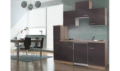 Küchenzeile, mit E - Geräten, Breite 180 cm kaufen