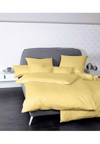 Janine Bettwäsche »Colors 31001«, mit Reißverschluss kaufen