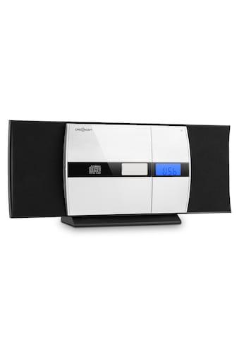 ONECONCEPT Stereo Anlage CD USB MP3 UKW AUX Radio Wecker Micro System »V - 15« kaufen