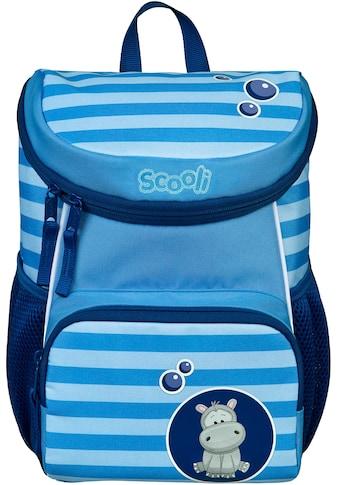 Scooli Kinderrucksack »Mini-Me, Henri Hippo«, Reflektoren kaufen