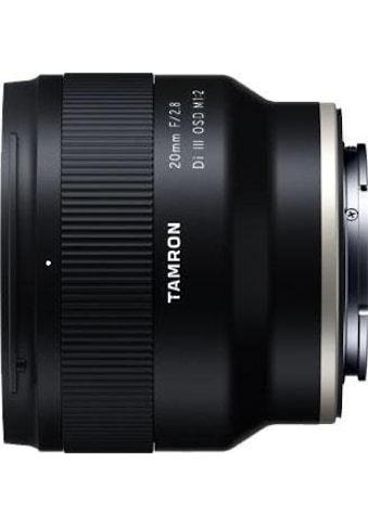 Tamron Weitwinkelobjektiv »AF 20mm F/2.8 Di III OSD 1/2 MACRO (für SONY)« kaufen