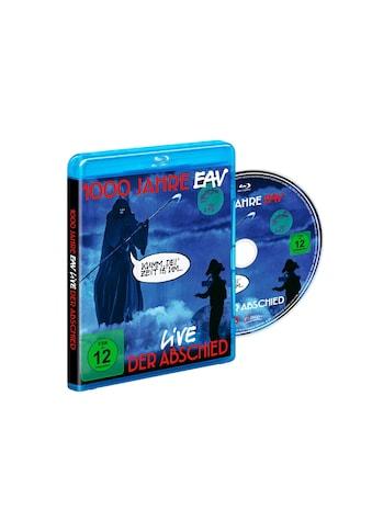 Musik - CD 1000 Jahre EAV Live - Der Abschied / EAV, (1 Blu - Ray Video) kaufen