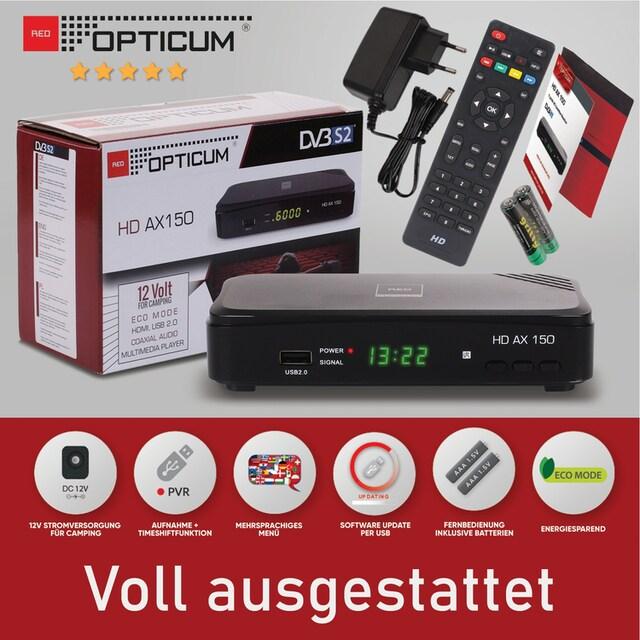 Opticum Red »AX 150 Full HD« SAT-Receiver