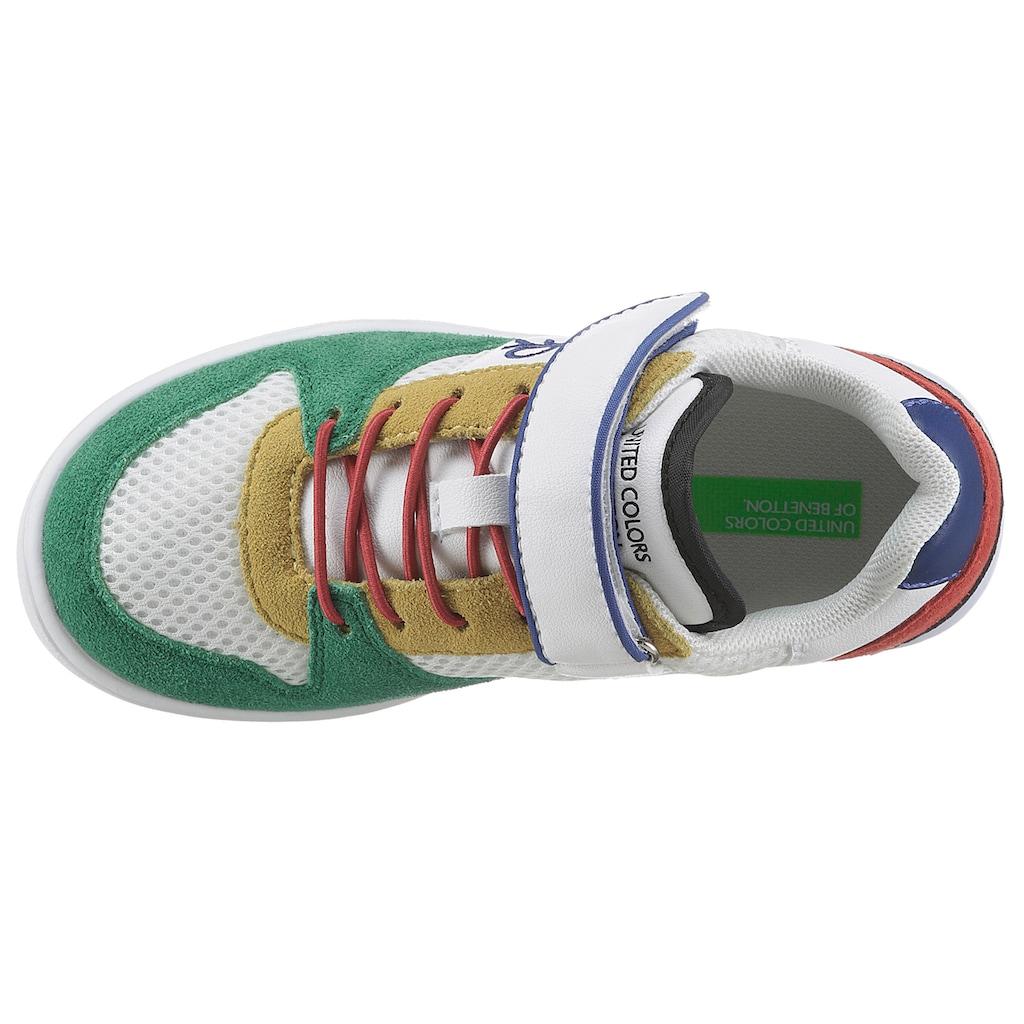 United Colors of Benetton Sneaker »ALLY«, mit praktischem Klettriemchen