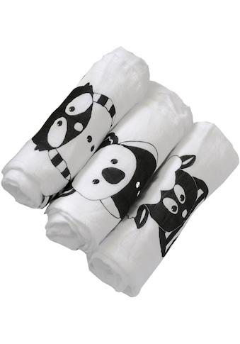 smarTrike® Stoffwindeln »toTs Bambus Muslin Wickeltücher Waschbär« kaufen