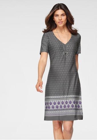 Boysen's Jerseykleid, im Ethno-Stil kaufen
