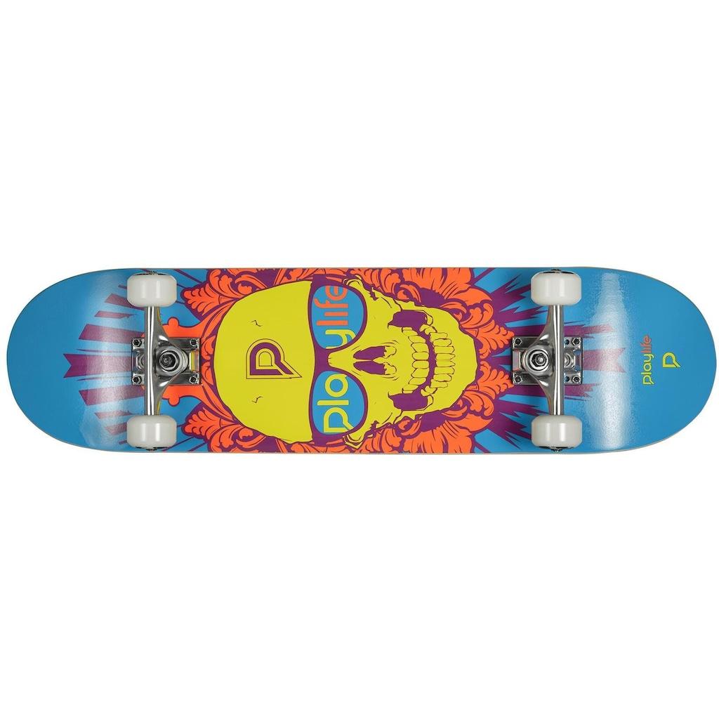 Playlife Skateboard »Skullhead«