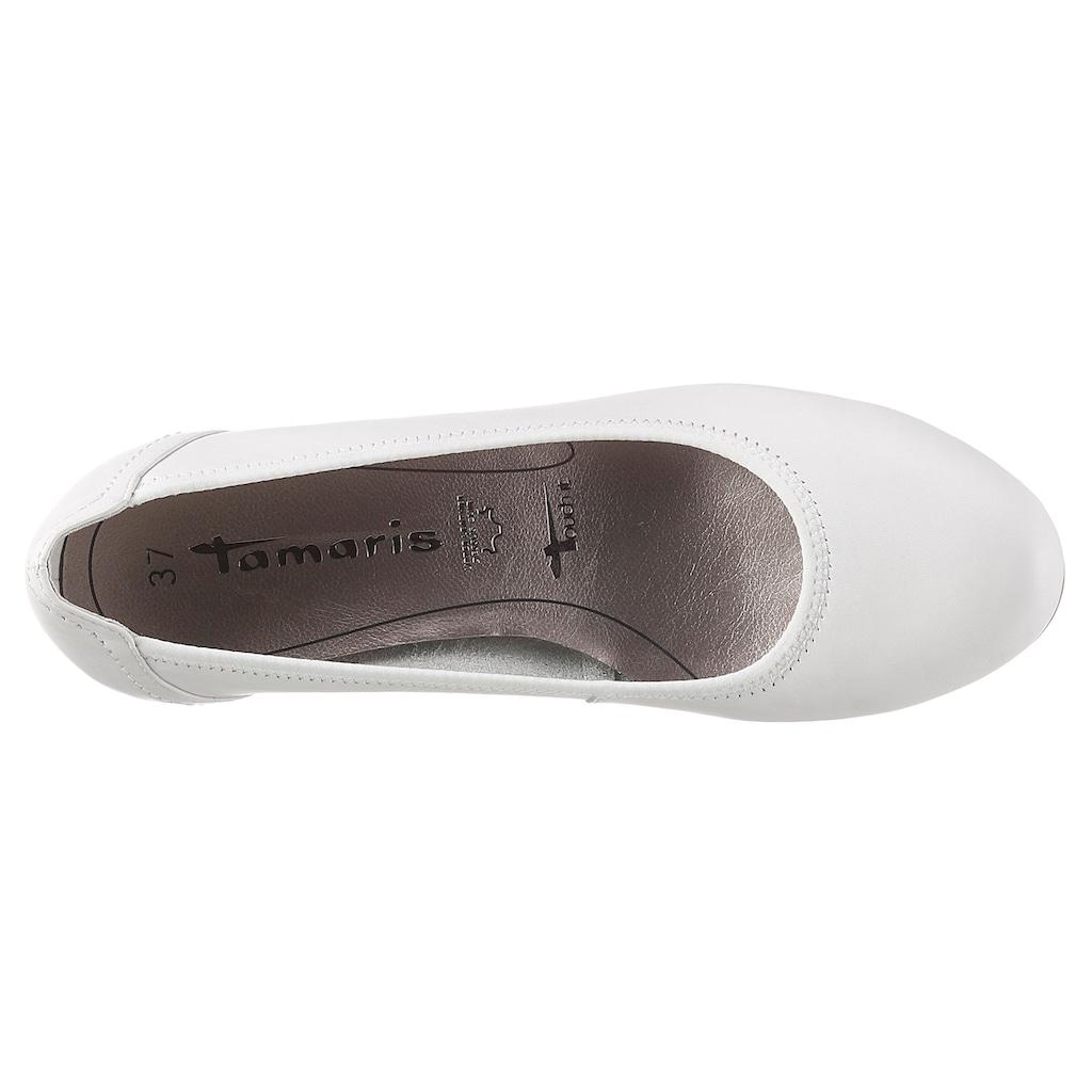 Tamaris Pumps »Borage«, in schlichtem Look