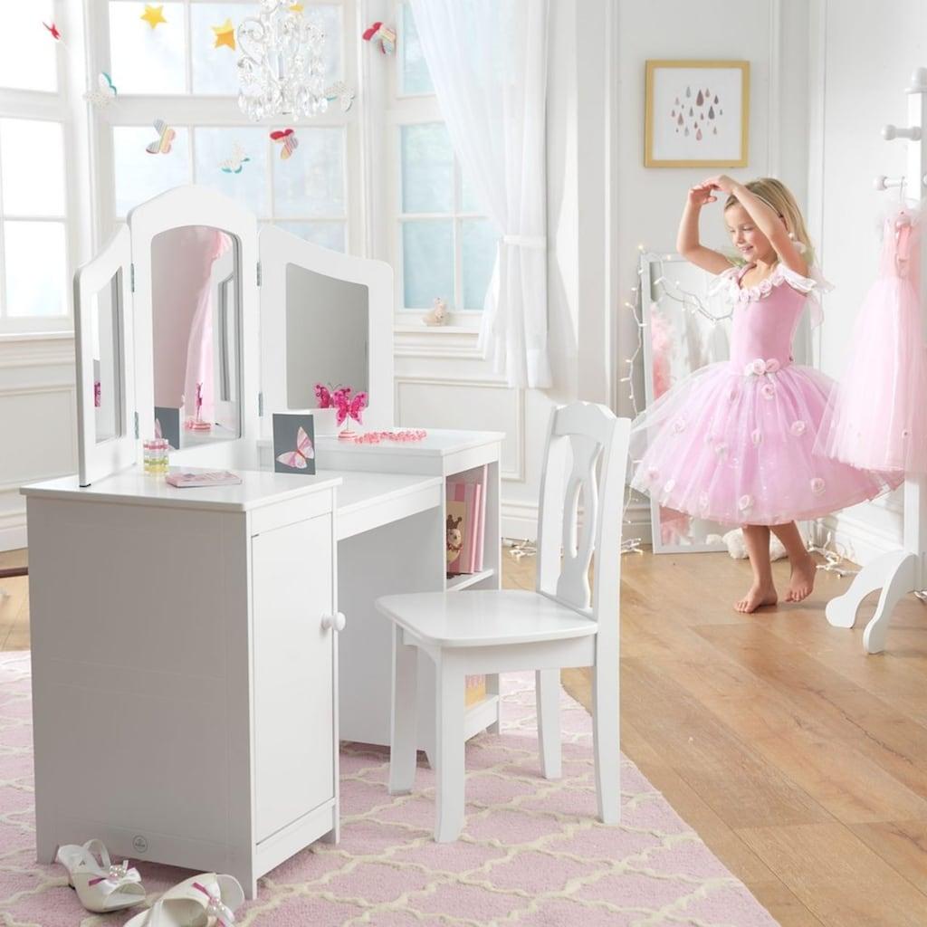 KidKraft® Schminktisch »Luxus-Frisiertisch für Mädchen mit Stuhl«