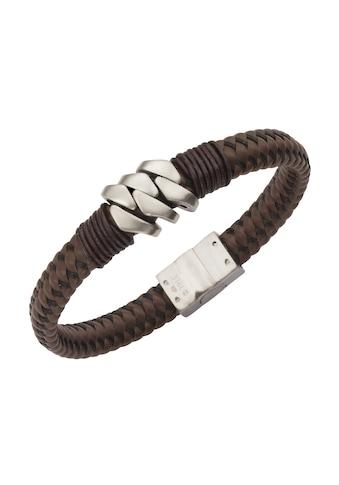 Zeeme Armband »Leder mit Edelstahlverschluß« kaufen