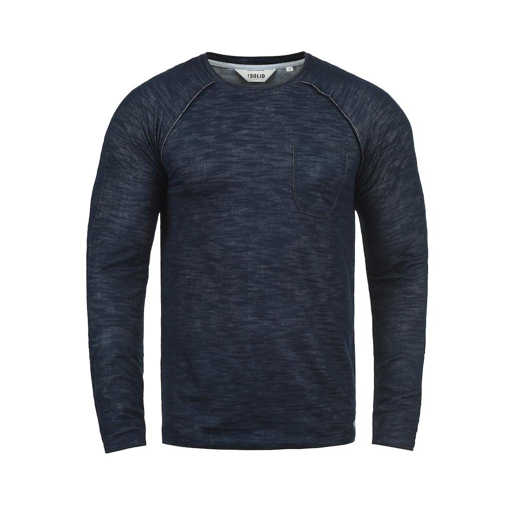 Solid Sweatshirt »Don«, Sweatpullover mit Brusttasche