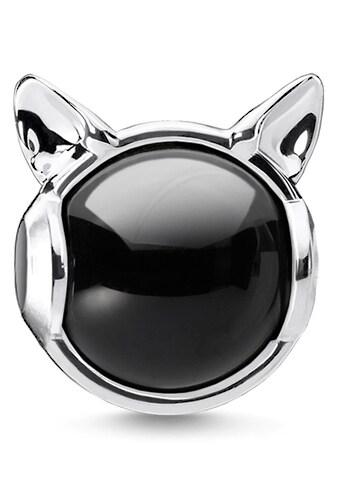 THOMAS SABO Bead »Katzenohren silber, K0328-024-11«, mit Onyx kaufen