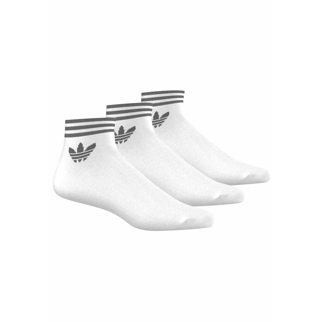 adidas Originals Sneakersocken, (3 Paar), mit Frottee