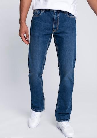 John Devin Straight-Jeans, in cleaner Waschung kaufen