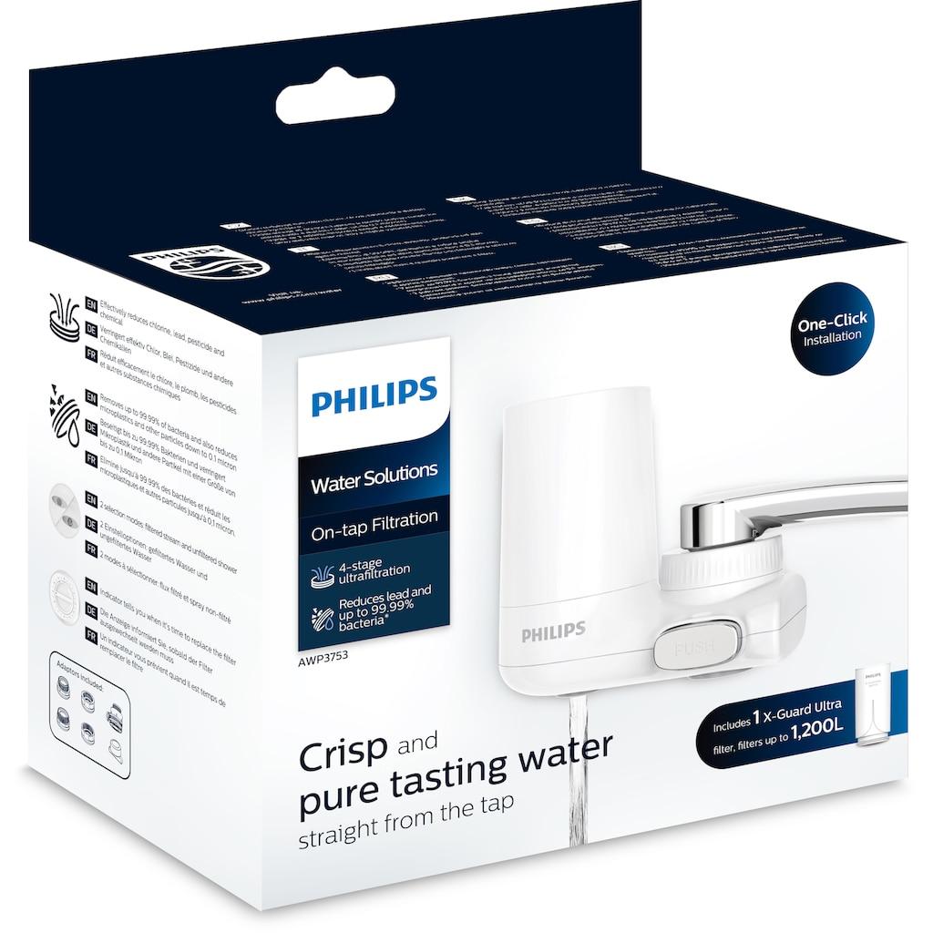 Philips Wasserfilter »AWP3753/10«, Filtration am Wasserhahn, Filterkapazität: 1200 l