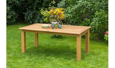 MERXX Gartentisch Akazieholz, ausziehbar, 260x100 cm, natur kaufen