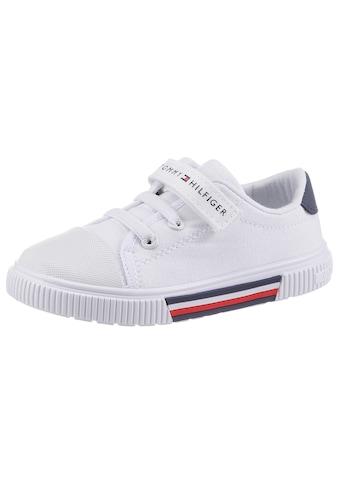 TOMMY HILFIGER Sneaker »Migos«, mit zusätlichem Klettverschluss kaufen