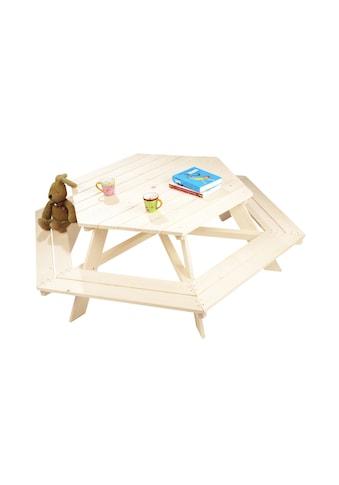Pinolino® Kindersitzgruppe »Nicki, 6 - eckig« kaufen
